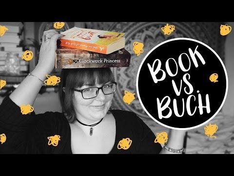BOOK VS. BUCH • 5 Unterschiede zwischen englischen und deutschen BÜCHERN