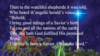Christians, awake, salute the happy morn