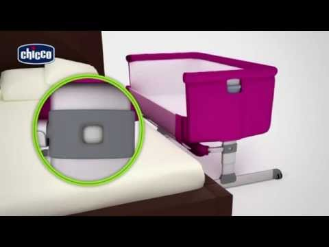 Chicco Next 2 Me Co-Sleeper Bedside Crib - How To Use Video | Baby Monitors Direct
