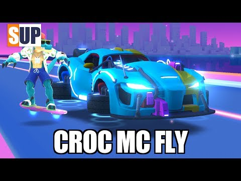 SUP multiplayer racing CROC MC FLY first quick look