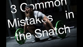 3 Common Mistakes in the Snatch - Invictus Weightlifting