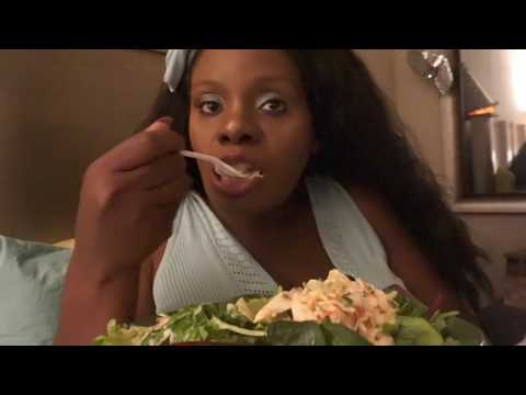 Eating Sound ASMR Salad | Yum