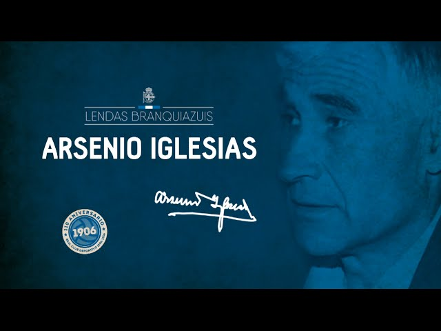 Vídeo del homenaje a Arsenio Iglesias por parte del Deportivo de La Coruña