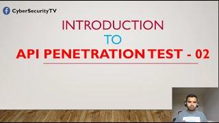 Introduction To API Penetration Test | E02