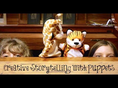 Creative Storytelling with Kids Using Puppets