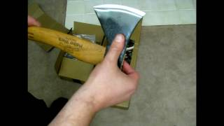 Helko Hatchet and Splitting Maul First Impressions