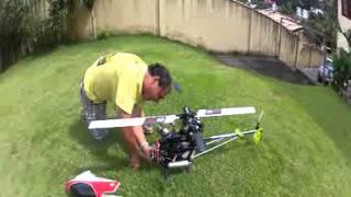 #7 Edimilson Helicóptero a Gasolina