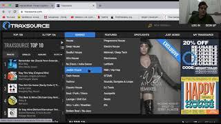 Páginas para buscar música (Investigación Musical) Eletronic Music - Box Tips AnBrach
