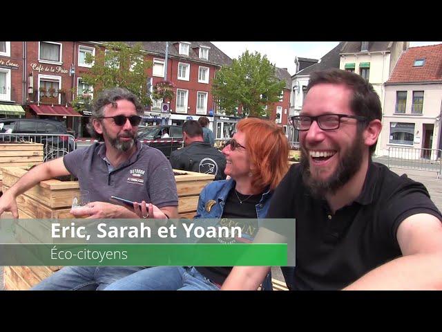 Saint-Pol : inauguration des carrés potagers place de la mairie