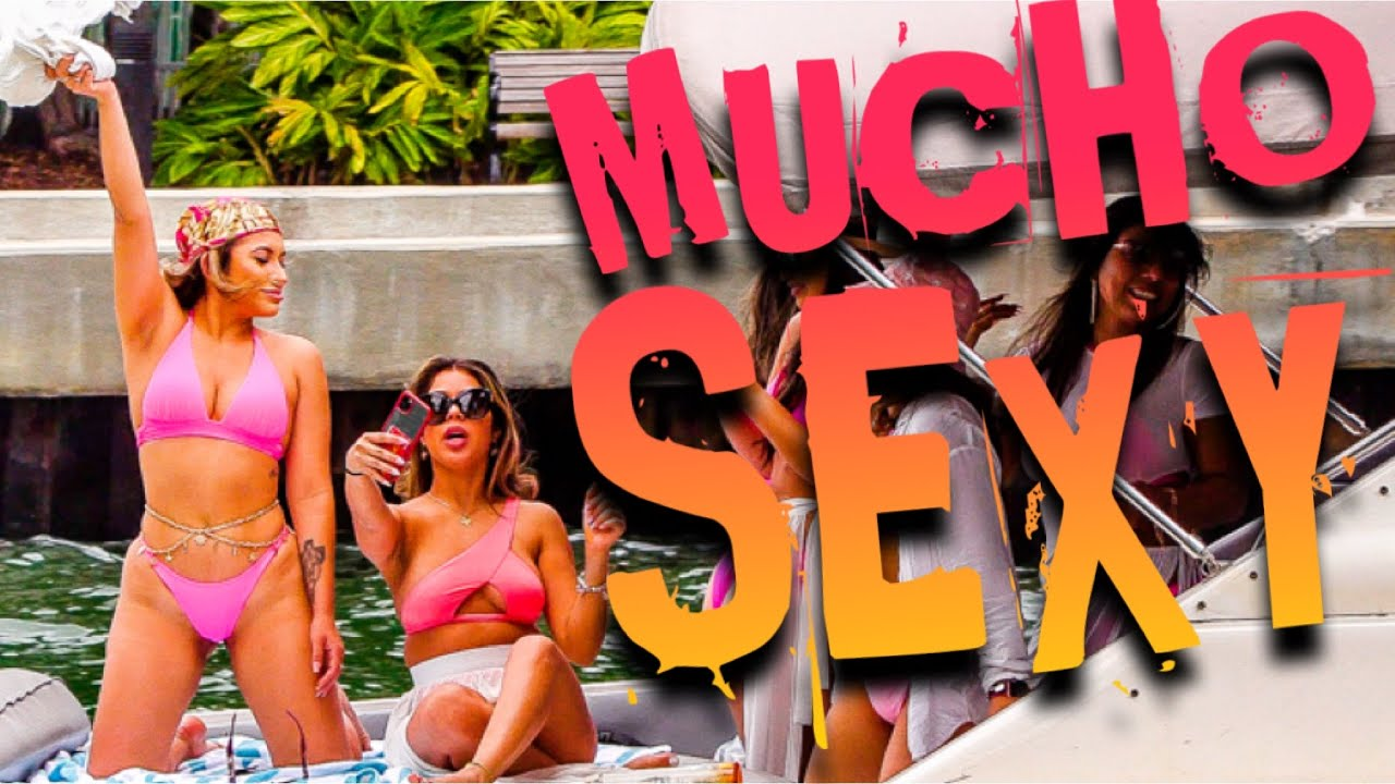 ‼️MUCHO SEXY WILD‼️| Haulover Inlet Boats | Miami River