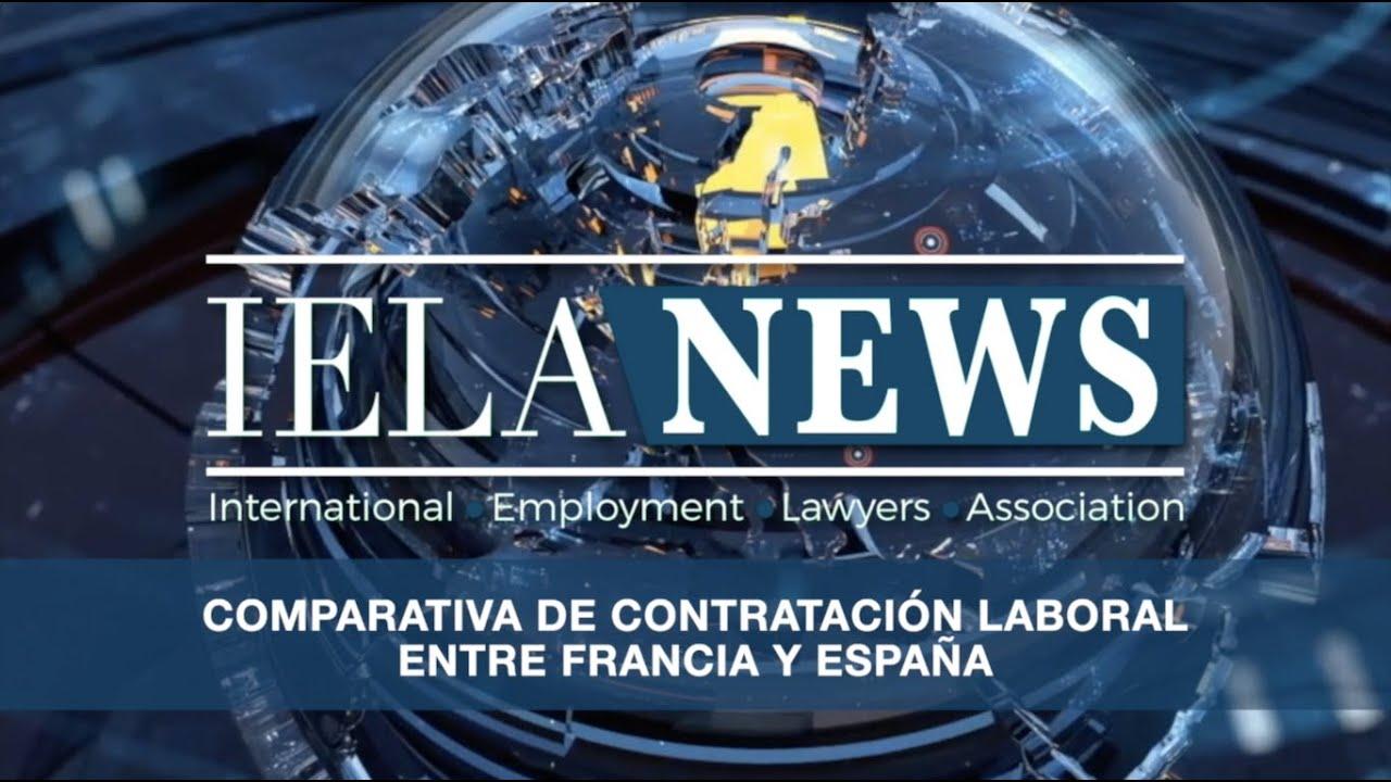Comparativa de la contratación laboral entre Francia y España