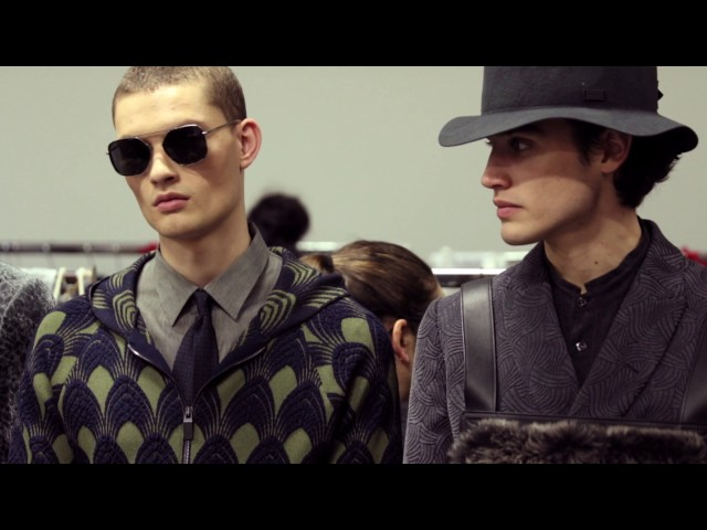 Emporio Armani - 2017/2018 Fall Winter - Men's Fashion Show Backstage