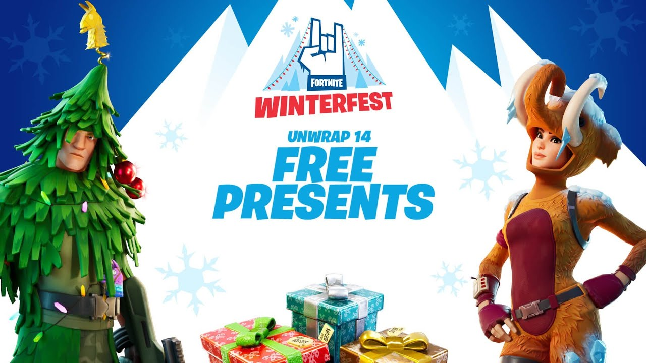 Fortnite Winterfest 2020: Upcoming Changes and Free Rewards