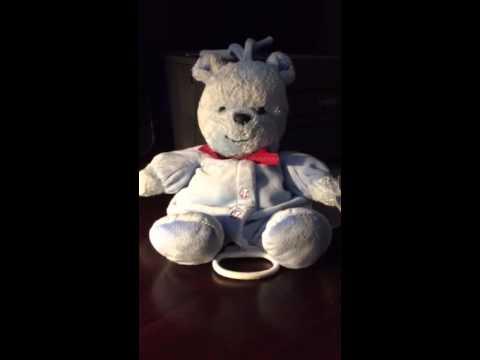 Carter's Child of Mine Musical Plush Blue Teddy Bear