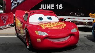 Repeat youtube video Real Life Cars From Cars 3 The Movie & A Disney Springs Construction Update!