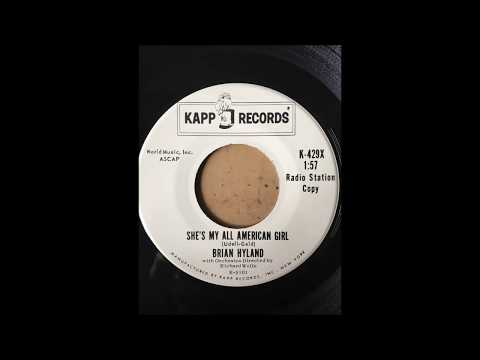 Brian Hyland - She's My All American Girl bw Every Other Night KAPP