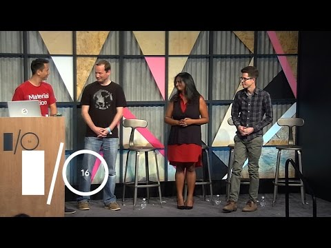 Designer & developer communication - Google I/O 2016