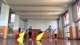 たまごホール公演のためのサークル練習.