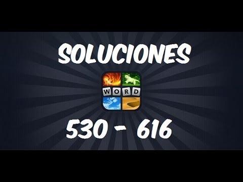 4 Fotos 1 Palabra 530 616 Todas Las Soluciones De La Nueva Actualización Abril 2014 Youtube