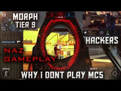 MC5 NAZ GAMEPLAY AND WHY I DON'T PLAY MC5 MUCH [ HACKERS ]