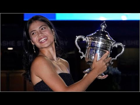 إيما رادوكانو البريطانية تصنع تاريخ التنس بفوزها بنهائي بطولة أمريكا المفتوحة وهي في عمر 18 عاما…  - 14:54-2021 / 9 / 12