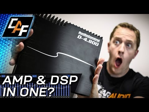 DSP INSIDE AMP?! AudioControl D-4.800 Amplifier