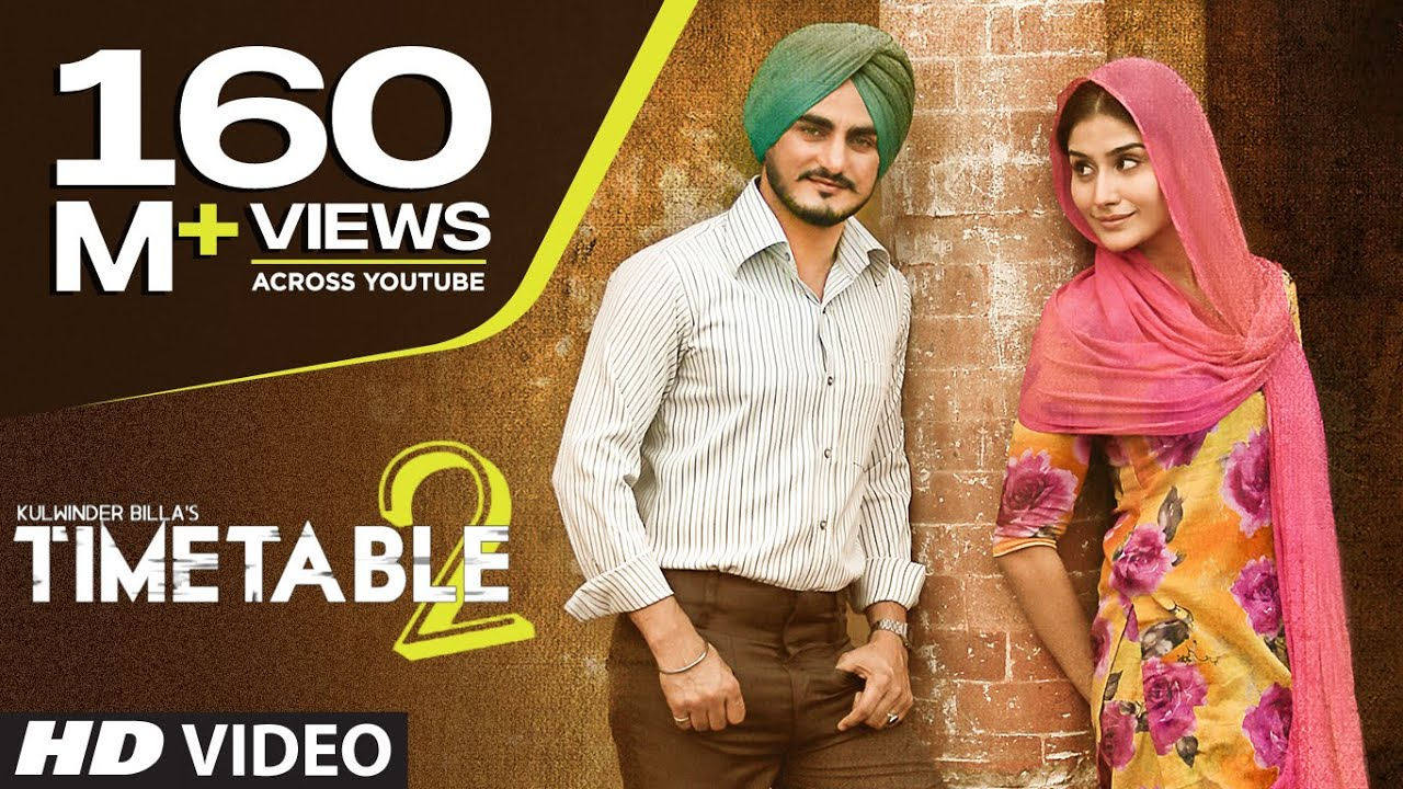 Kulwinder Billa Time Table 2 ਟਾਈਮ ਟੇਬਲ 2 Full Video  Latest Punjabi Song 2015