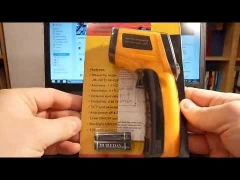 Non Contact Infrared Digital Thermometer LCD Digital Pyrometer Temperature GM320