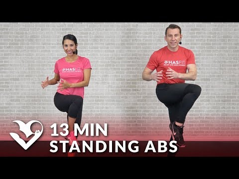 Standing Abs Workout at Home – 13 Min Ab Workout Standing Up Cardio & Abdominal Exercises