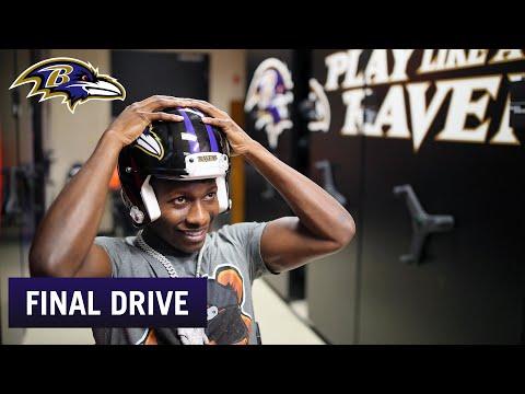 Hollywood Brown, Ravens Rookies Arrive for Start of Minicamp | Ravens Final Drive