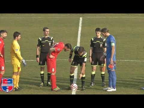 Virtus Ciserano Bergamo - Sondrio 1-1, 24° giornata girone B Serie D 2019/2020