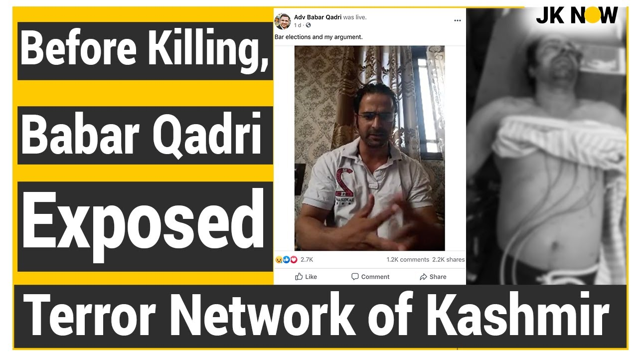 Shocking Story of Babar Qadri's Killing | Exposed Terror Network of Kashmir on Facebook Live