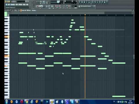 Fl studio piano melody (short) [Flp link]