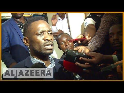 🇺🇬 Ugandan pop star MP Bobi Wine arrested on arrival l Al Jazeera English