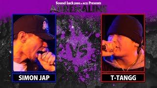 SIMON JAP vs T-TANGGADRENALINE 2018SIMON JAP!