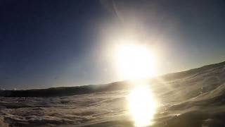 Boogie Boarding at Mission Beach in San Diego GoPro HD