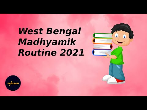 West Bengal Madhyamik Routine 2021 Announced! Check WB 10th Exam Dates
