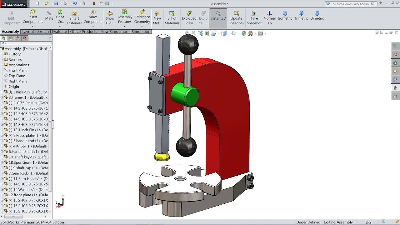 how to make tear drop sketch on solidworks