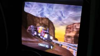 Sega The King of Route 66 Attract Mode