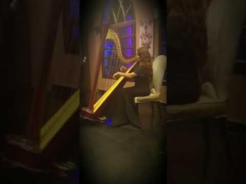 [video] Beautiful Female Harpist Bahrain – Female Harp Player Bahrain Uae Kuwait Qatar – Oman – Dubai