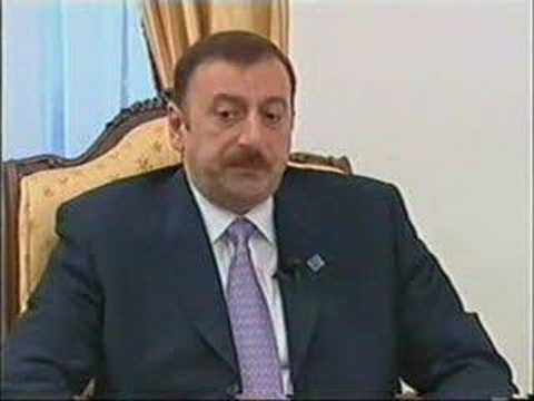 Interview of Ilham Aliyev to correspondent of BloombergTV