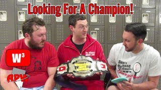 Scouting for the First YouTube Champion! | Wrestling With Wregret