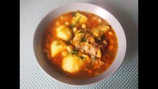 СУП из БАРАНИНЫ Вкусный сытный суп с мясом