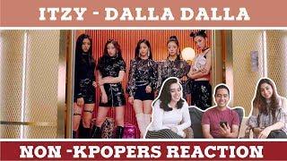 ITZY - DALLA DALLA MV REACTION WITH NON KPOPERS
