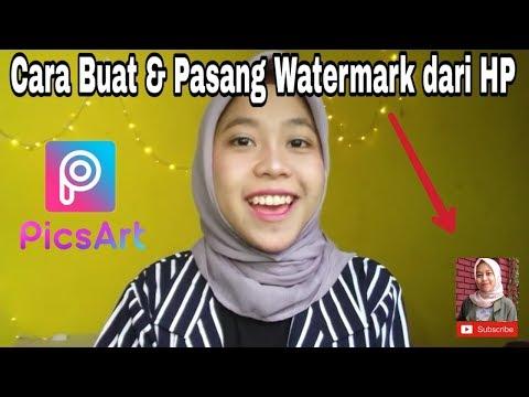 Cara Buat Dan Pasang Watermark Video Youtube Dari HP Android