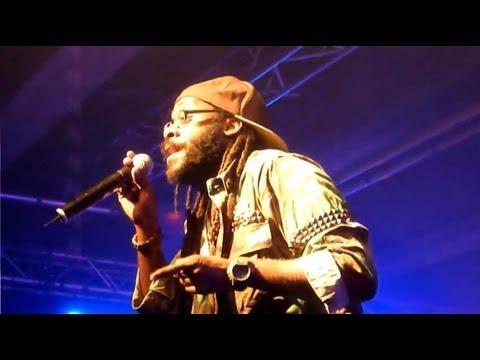 Tarrus Riley & Dean Fraser with Black Soil Band 21-04-2012 Petrol/Antwerp/B