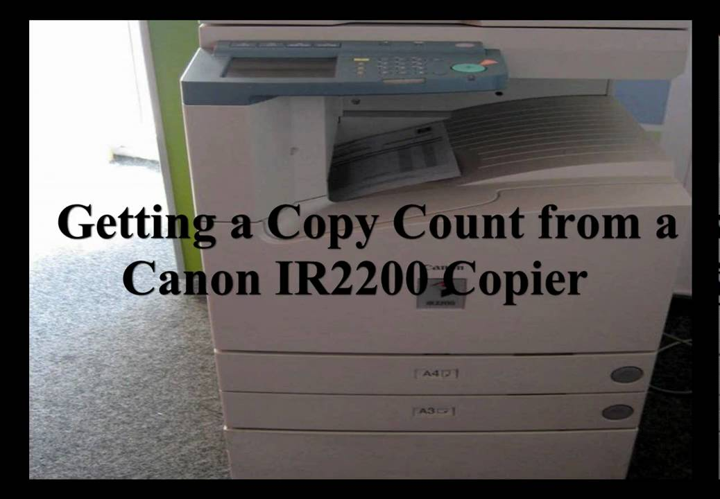 CANON SCANNER IR2200 DRIVER PC