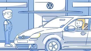 VW Rezervni dijelovi 30 sec animirani