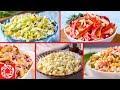 5 Быстрых Салатов на Новогодний стол! Меню на Новый год 2020