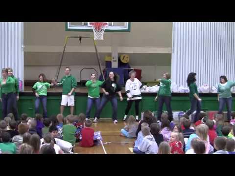 Paynesville Elementary School Food Drive Flash Mob